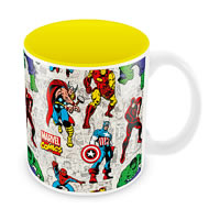 Marvel Comics All Avengers Ceramic Mug