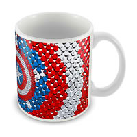 Marvel Captain America - Design Ceramic Mug