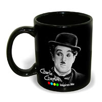 Hot Muggs Charlie Chaplin - Rainbow, Mug