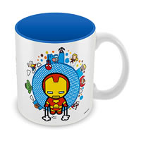 Marvel Kawaii - Iron Man Ceramic Mug