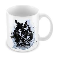 Marvel Avengers - Silhouette Ceramic Mug
