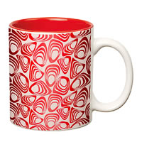 Prithish Abstract Design 13 Double Color Mug