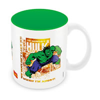 Marvel Comics Hulk When Angry Ceramic Mug