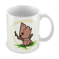 Marvel Groot - Kawaii Art Ceramic Mug