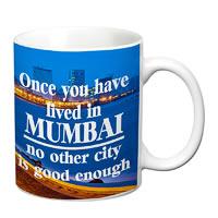 Prithish Mumbai City White Mug