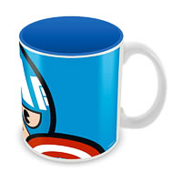 Marvel Captain America - Kawaii Ceramic Mug