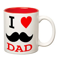 Prithish I Love Dad (Mooch) Double Color Mug