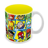 Marvel Characters Kawaii Ceramic Mug