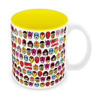 Marvel Comics All Faces Ceramic Mug