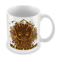 Marvel We Are Groot - Kawaii Art Ceramic Mug