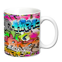 Prithish Grafitti Design 1 White Mug