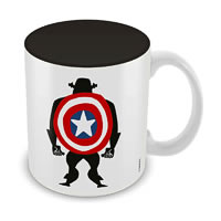Marvel Captain America Class Ceramic Mug