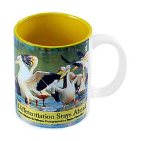 Hot Muggs Wild Focus - Differentiation Stays Ahead Mug
