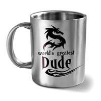 Hot Muggs World's Greatest Dude Mug