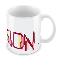 Marvel Vision Logo Ceramic Mug