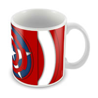 Marvel Captain America - 75 Years New Logo Ceramic Mug