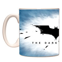 Warner Brothers Dark Knight Batman Movie Logo Mug