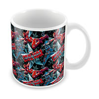 Marvel Civil War - Captain Collage Ceramic Mug