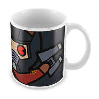 Marvel Star Lord - Kawaii Art Ceramic Mug
