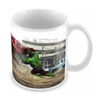 Marvel Hulk - Hulk Buster Fight Ceramic Mug