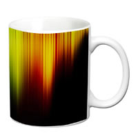 Prithish Abstract Design 47 White Mug