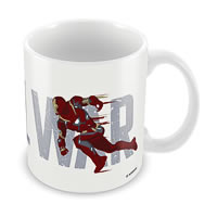 Marvel Civil War - Captain America Chase Ceramic Mug