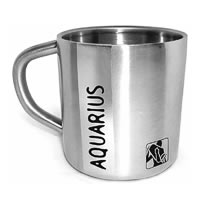 Hot Muggs Aquarius Starsign Mug