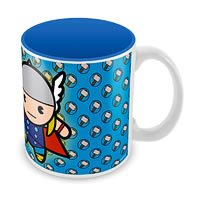 Marvel Kawaii Art - Thor Ceramic Mug