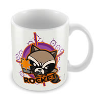 Marvel Rocket - Kawaii Art Ceramic Mug