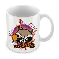 Marvel Rocket - Kawaii Art Ceramic Mug