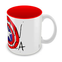 Marvel Captain America Avenger Ceramic Mug