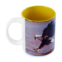 Hot Muggs Wild Focus - Sharpness Overcomes Terrain Mug