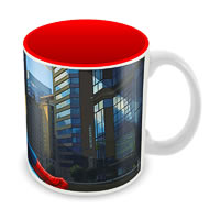 Marvel Spider-Man Hanging Ceramic Mug
