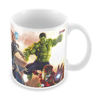 Marvel Avengers in Action Ceramic Mug