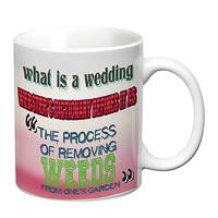 Prithish What Is A Wedding White Mug