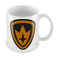 Marvel Kawaii - Guardians of Galaxy Logo Ceramic Mug