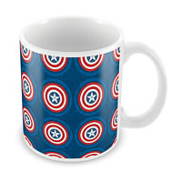 Marvel Civil War - Captain Theme Ceramic Mug