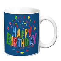 Prithish Happy Birthday Design 2 White Mug