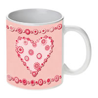 Prithish Abstract Design 19 White Mug