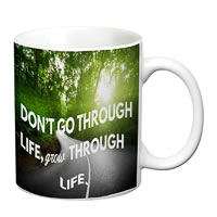Prithish Grow Through Life White Mug