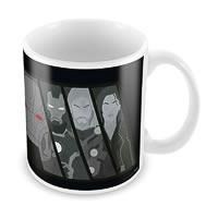 Marvel The Avengers Sketch Ceramic Mug