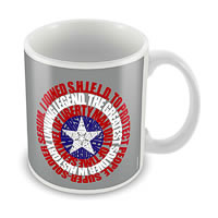 Marvel Captain America Classic Ceramic Mug