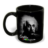Hot Muggs Einstein - Life is like bicycle, Mug