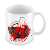 Marvel Age of Ultron Logo Ceramic Mug