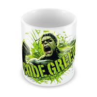 Marvel Code Green - Hulk Ceramic Mug