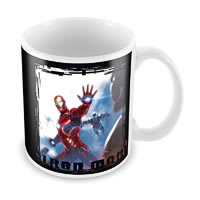 Marvel The Iron Man Ceramic Mug