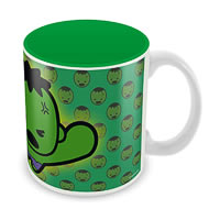Marvel Kawaii Art - Hulk Ceramic Mug