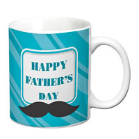 Prithish Happy Father's Day Design 3 White Mug