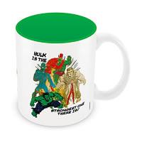 Marvel Comics Strongest Hulk Ceramic Mug