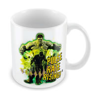 Marvel Pulse Rate Rising - Hulk Ceramic Mug